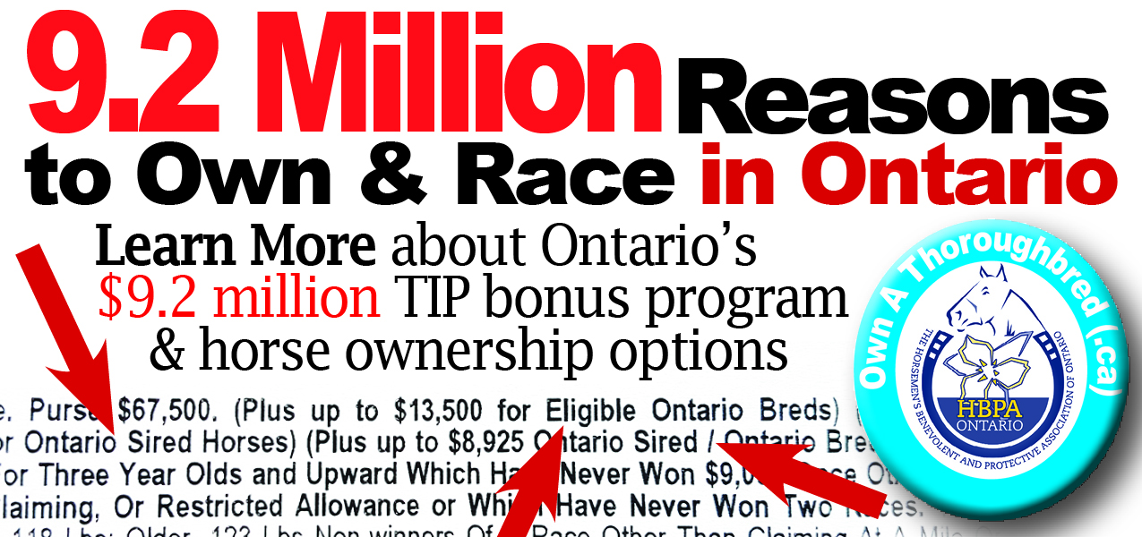 HBPA Ontario Horse Races Now